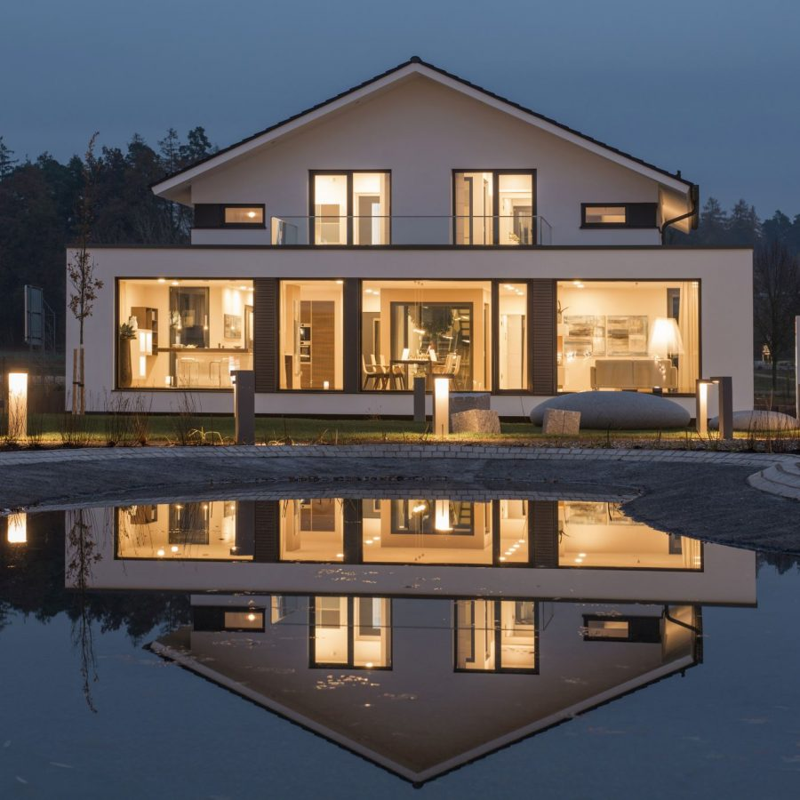 luxuriös wohnen